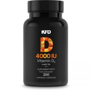 Kfd Vitamin D3 4000 iu 200capsules