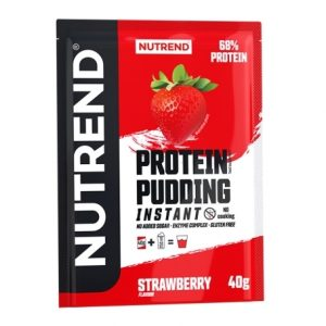 Nutrend Protein Pudding Instant Strawberry flavour 40g