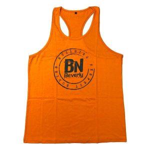 Beverly Nutrition Tank Top Tshirt Orange Small
