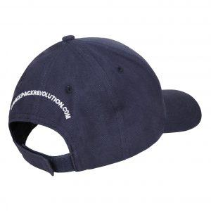 the six pack revolution baseball cap in navy blue