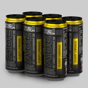 Applied Nutrition abe drink preworkout can cloudy lemonade