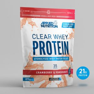 Applied Nutrition clear whey protein cranberry & pomegranate
